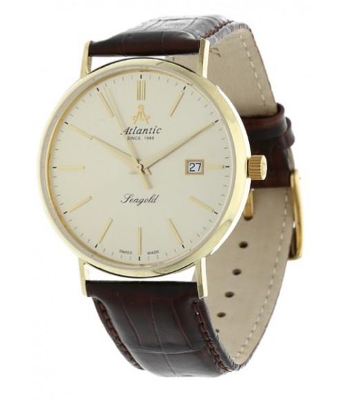 Złoty Zegarek Męski Atlantic Seagold 95344.65.31