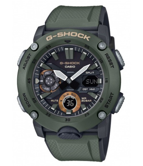 Casio G-Shock Carbon GA-2000-3AER