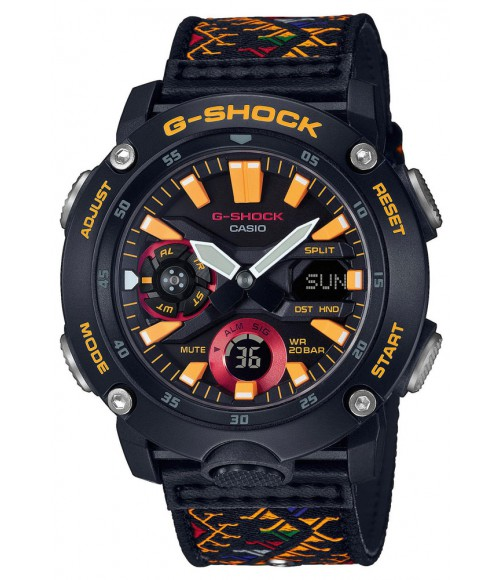 Casio G-SHOCK Carbon Core Guard Bhutan Limited GA-2000BT-1AER
