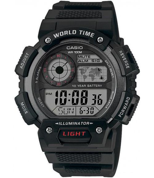 Casio World Time Illuminator AE-1400WH-1AVEF