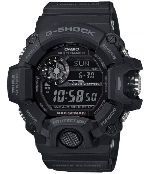 Casio G-SHOCK Rangeman Black Out GW-9400-1BER