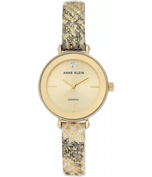 Anne Klein Diamond Accented 3508CHGD