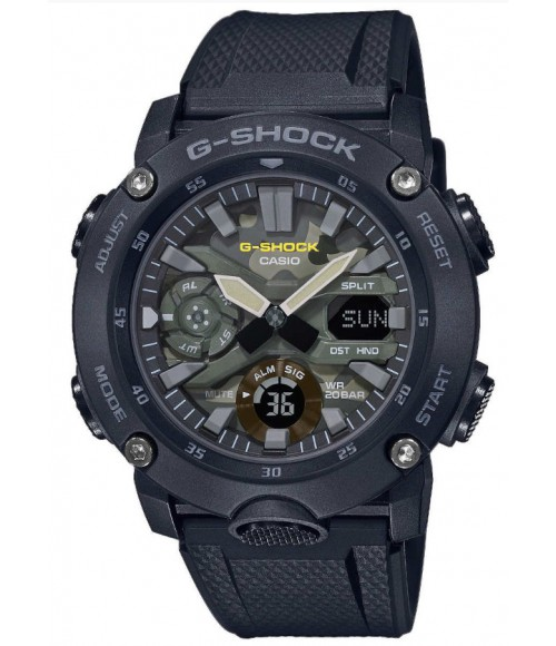 Casio G-SHOCK Carbon GA-2000SU-1AER