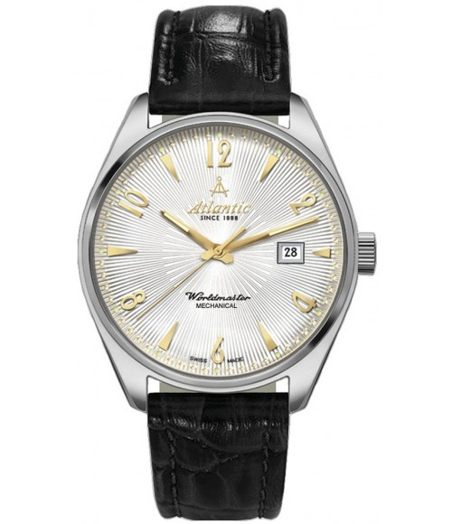 Atlantic Worldmaster Mechanical Art Deco 51651.41.25G