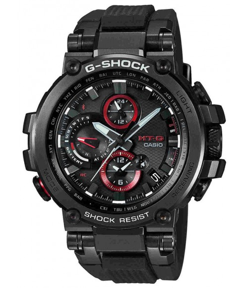 Casio G-SHOCK Metal Twisted G 2-Way Sync MTG-B1000B-1AER
