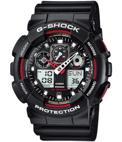Casio G-SHOCK Red Giant GA-100-1A4ER