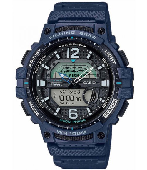 Casio Fish Moon Phase WSC-1250H-2AVEF