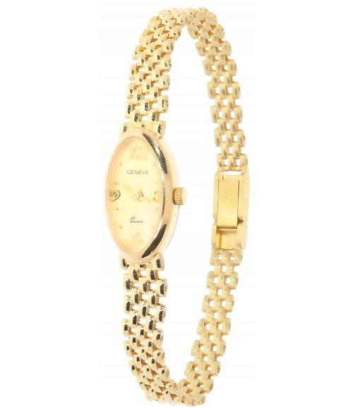 Złoty zegarek Geneve Gold ZWK038 585 14k