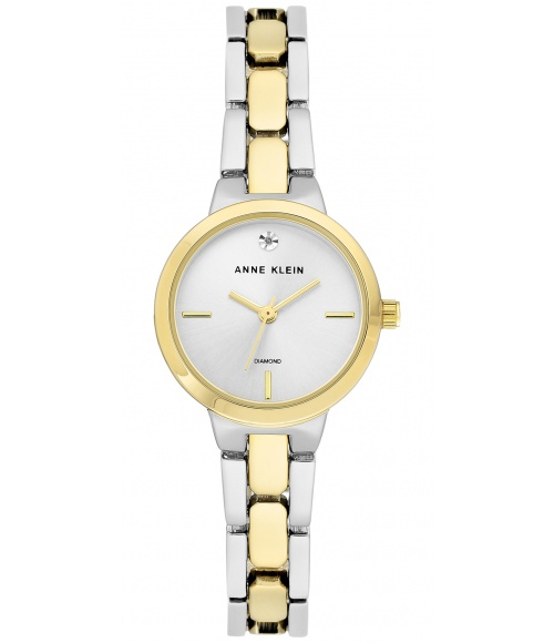 Anne Klein Diamond Accented 3235SVTT