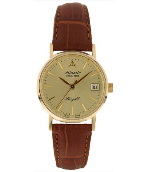 Złoty Zegarek Damski Atlantic Seagold Ladies 94340.65.31
