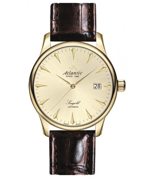Złoty Zegarek Męski Atlantic Seagold Automatic 95743.65.31