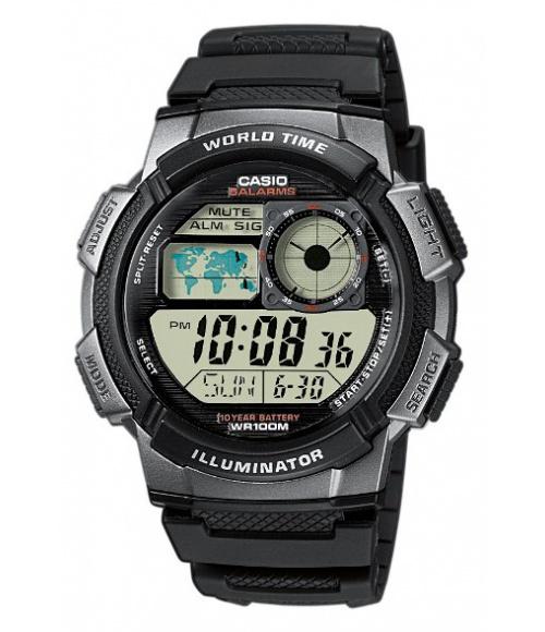 Casio World Time Illuminator AE-1000W-1BVEF