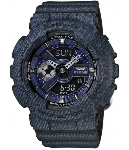 Casio G-SHOCK Denim Series Baby-G BA-110DC-2A1ER